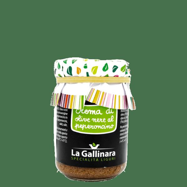 Crema di olive neri peperocino
