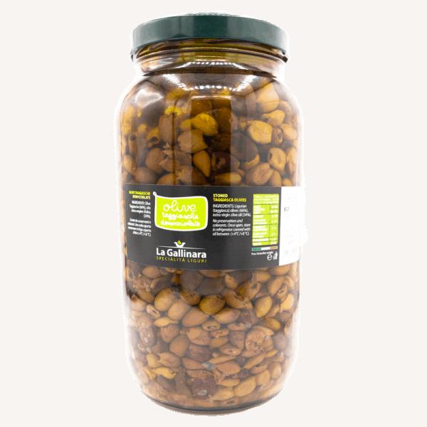 Olive taggiasche denocciolate