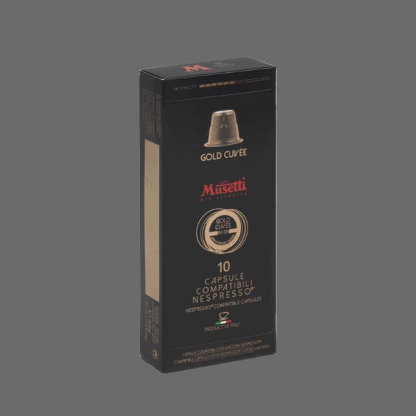 Gold cuvée 10 nespresso