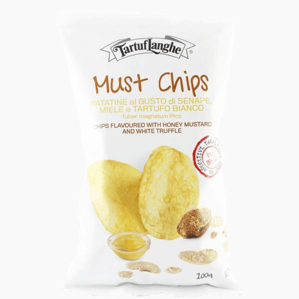 Mustard chips 100gr