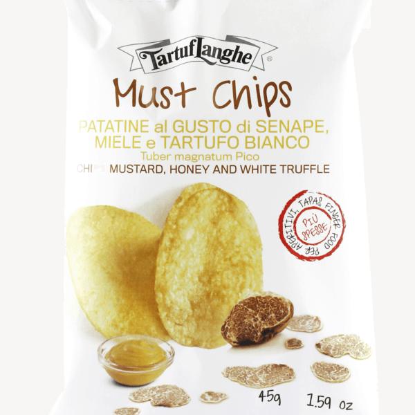 Mustard chips 45gr