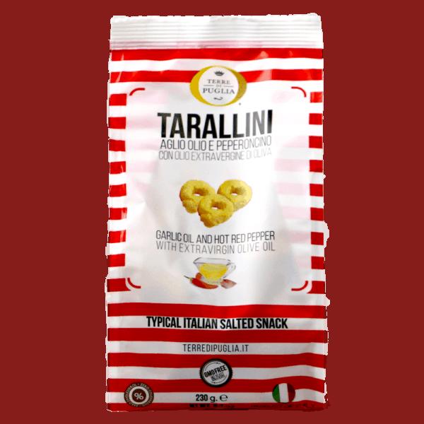 Tarraline gralic, oil, pepper