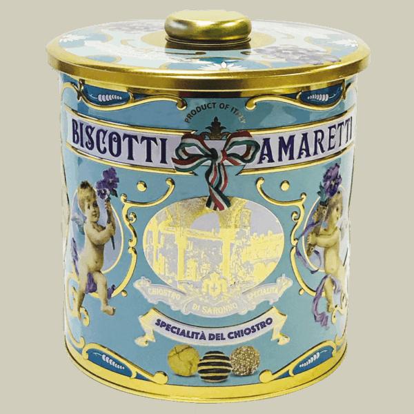 Biscottiera mix blauw