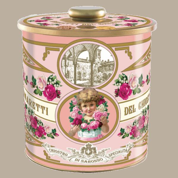 Biscottiera mix roze