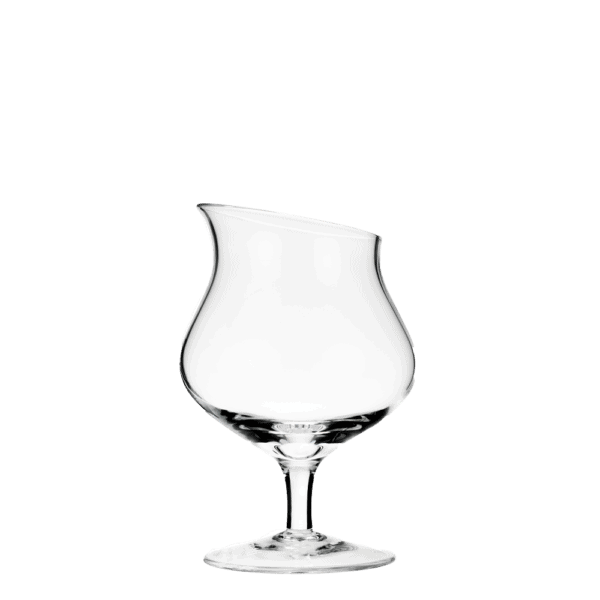 Tasting glass for aged grappa